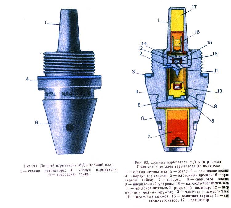 Взривател дънен МД-5