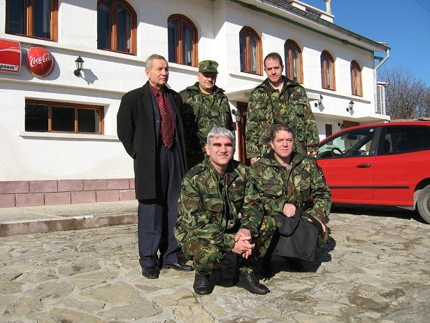 Боян Петков, Вальо Радев, Николай Нейков и братя Стойче
