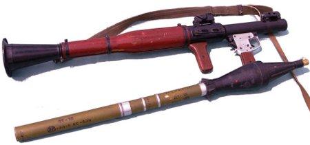 Ръчна противотанкова гранатохвъргачка - РПГ-7
